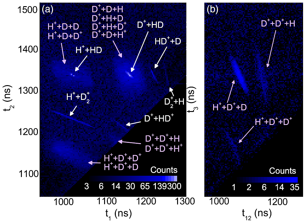D2H+ exhibits isotopic effects in its strong-field fragmentation