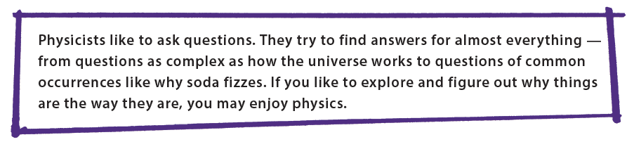 What physicists do