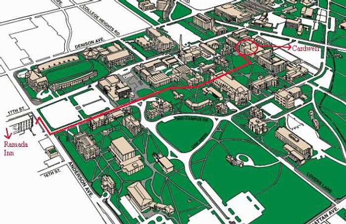 All About Campus Maps Kansas State University Www Kidskunst Info