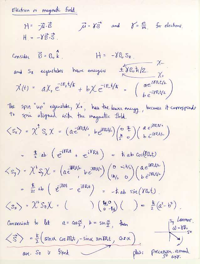 Applied Quantum Mechanics, KSU Physics