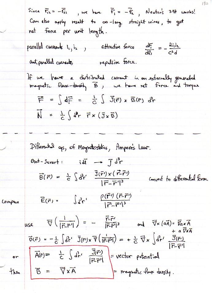 Electrodynamics I, KSU Physics